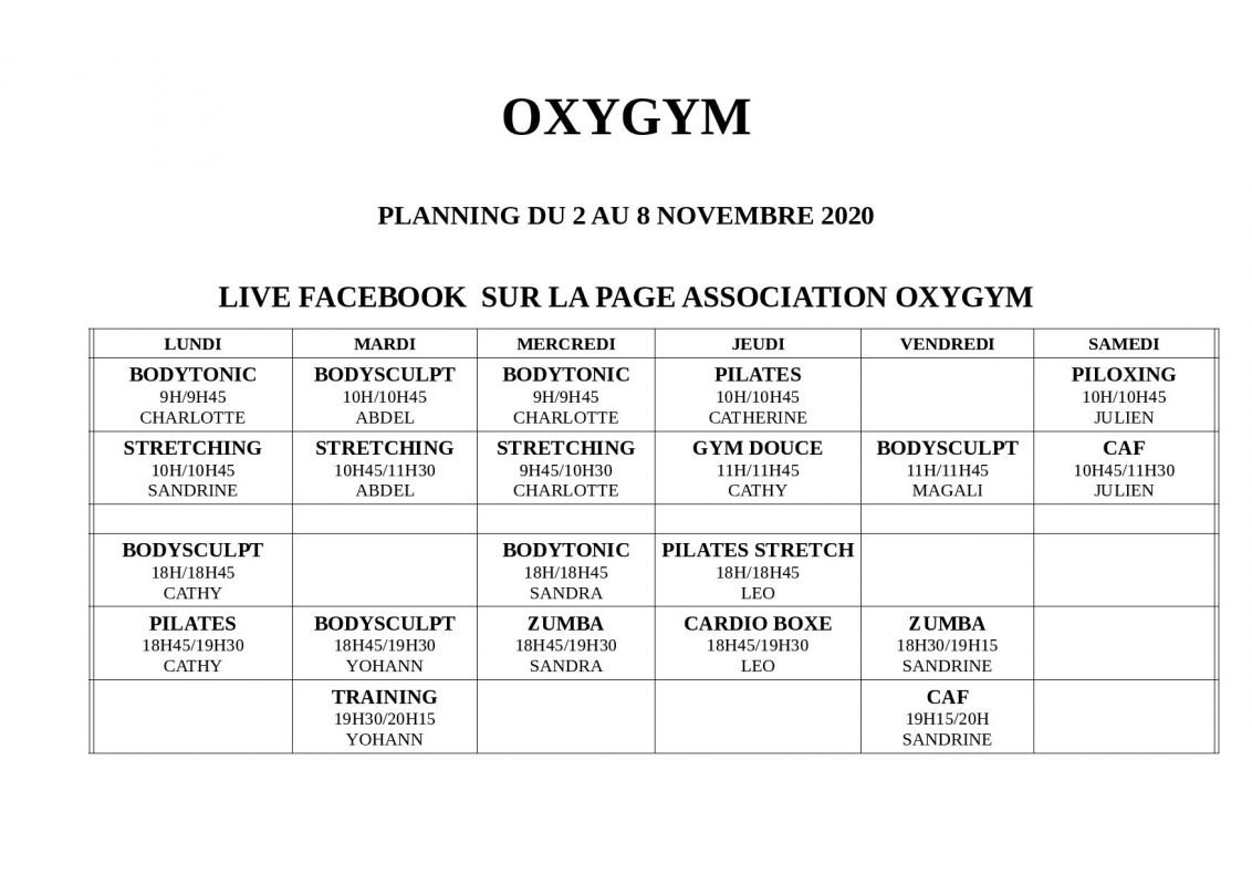 Oxygym Planning Nov Page 001