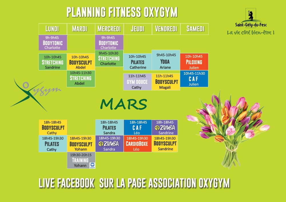 planning oxygym mars