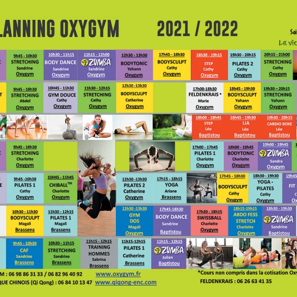 planning oxygym2021 2022